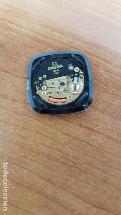 Relojes - Omega: Máquina de reloj OMEGA de cuarzo, calibre Omega 1365, Esfera color blanca con agujas originales. - Foto 7 - 199664246