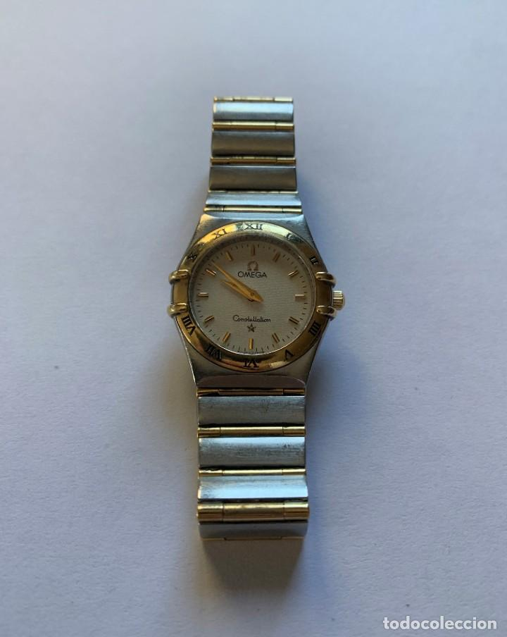 OMEGA - CONSTELLATION ACERO / ORO - 1372.30.00 - MUJER - 1980-1989 (Relojes - Relojes Actuales - Omega)