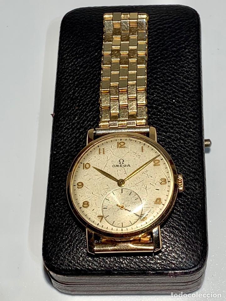 Relojes - Omega: Reloj Omega Caja Oro 18kt / Armis Plaqué Oro. Cal.30T2. 35mm. 15 Jewels. Box. 1944. Funcionando MBE - Foto 2 - 201109701