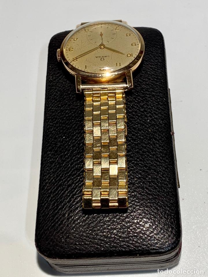 Relojes - Omega: Reloj Omega Caja Oro 18kt / Armis Plaqué Oro. Cal.30T2. 35mm. 15 Jewels. Box. 1944. Funcionando MBE - Foto 3 - 201109701