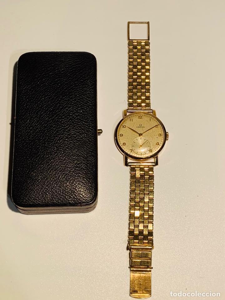 Relojes - Omega: Reloj Omega Caja Oro 18kt / Armis Plaqué Oro. Cal.30T2. 35mm. 15 Jewels. Box. 1944. Funcionando MBE - Foto 4 - 201109701