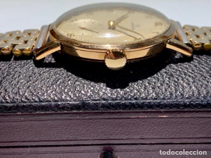 Relojes - Omega: Reloj Omega Caja Oro 18kt / Armis Plaqué Oro. Cal.30T2. 35mm. 15 Jewels. Box. 1944. Funcionando MBE - Foto 6 - 201109701