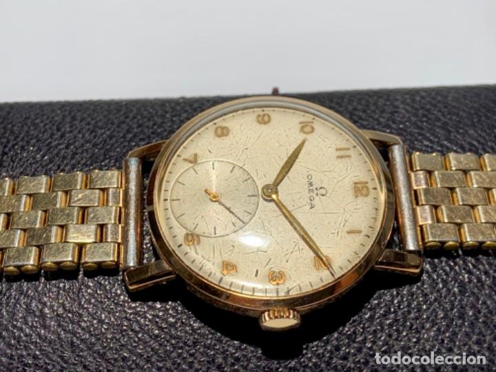 Relojes - Omega: Reloj Omega Caja Oro 18kt / Armis Plaqué Oro. Cal.30T2. 35mm. 15 Jewels. Box. 1944. Funcionando MBE - Foto 7 - 201109701