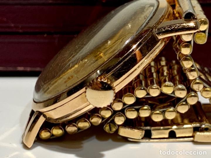 Relojes - Omega: Reloj Omega Caja Oro 18kt / Armis Plaqué Oro. Cal.30T2. 35mm. 15 Jewels. Box. 1944. Funcionando MBE - Foto 9 - 201109701