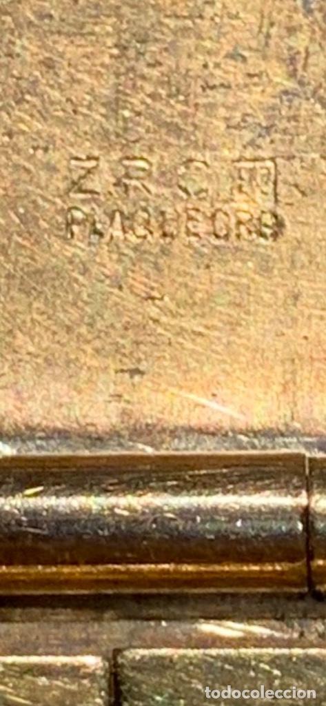 Relojes - Omega: Reloj Omega Caja Oro 18kt / Armis Plaqué Oro. Cal.30T2. 35mm. 15 Jewels. Box. 1944. Funcionando MBE - Foto 10 - 201109701