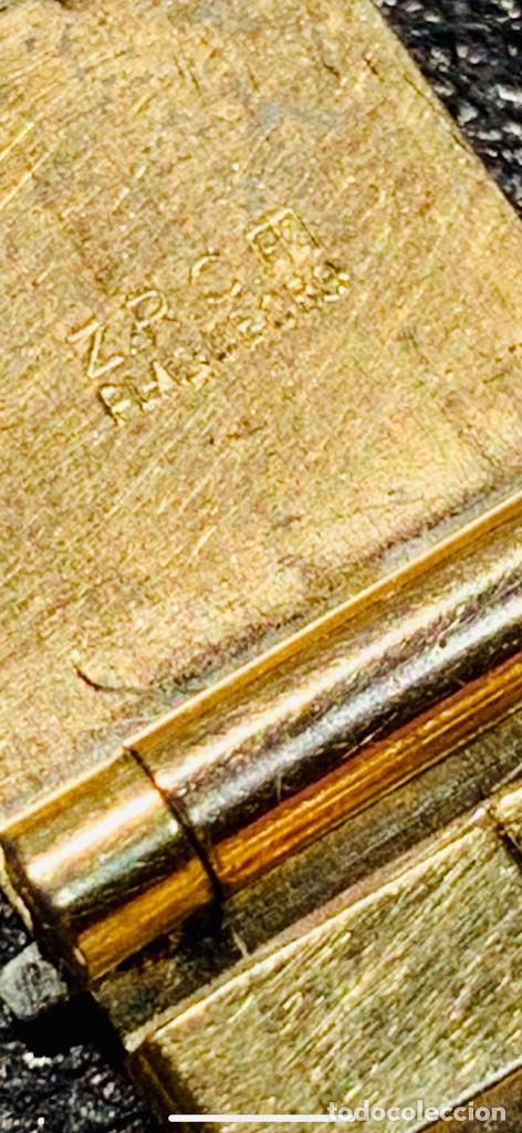Relojes - Omega: Reloj Omega Caja Oro 18kt / Armis Plaqué Oro. Cal.30T2. 35mm. 15 Jewels. Box. 1944. Funcionando MBE - Foto 11 - 201109701