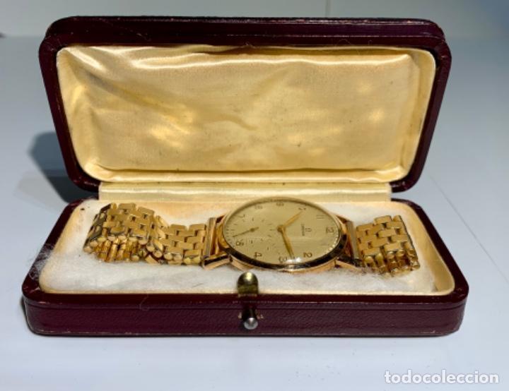 Relojes - Omega: Reloj Omega Caja Oro 18kt / Armis Plaqué Oro. Cal.30T2. 35mm. 15 Jewels. Box. 1944. Funcionando MBE - Foto 15 - 201109701