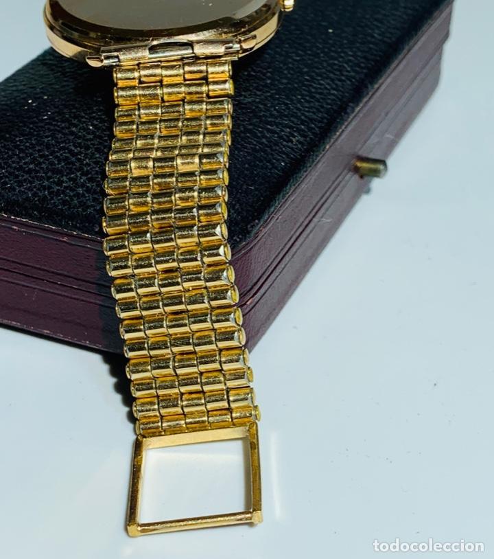 Relojes - Omega: Reloj Omega Caja Oro 18kt / Armis Plaqué Oro. Cal.30T2. 35mm. 15 Jewels. Box. 1944. Funcionando MBE - Foto 16 - 201109701