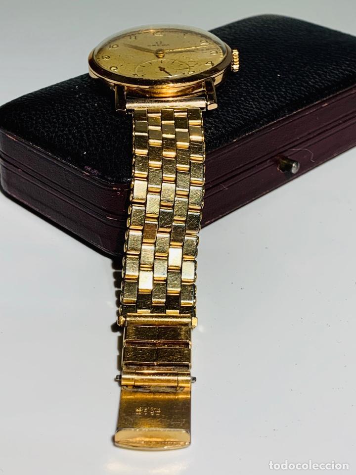 Relojes - Omega: Reloj Omega Caja Oro 18kt / Armis Plaqué Oro. Cal.30T2. 35mm. 15 Jewels. Box. 1944. Funcionando MBE - Foto 17 - 201109701