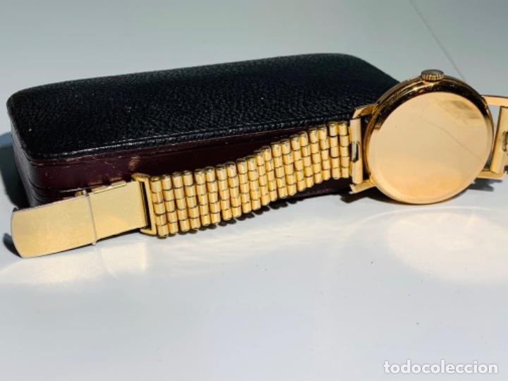 Relojes - Omega: Reloj Omega Caja Oro 18kt / Armis Plaqué Oro. Cal.30T2. 35mm. 15 Jewels. Box. 1944. Funcionando MBE - Foto 19 - 201109701