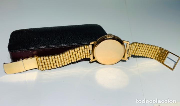 Relojes - Omega: Reloj Omega Caja Oro 18kt / Armis Plaqué Oro. Cal.30T2. 35mm. 15 Jewels. Box. 1944. Funcionando MBE - Foto 20 - 201109701