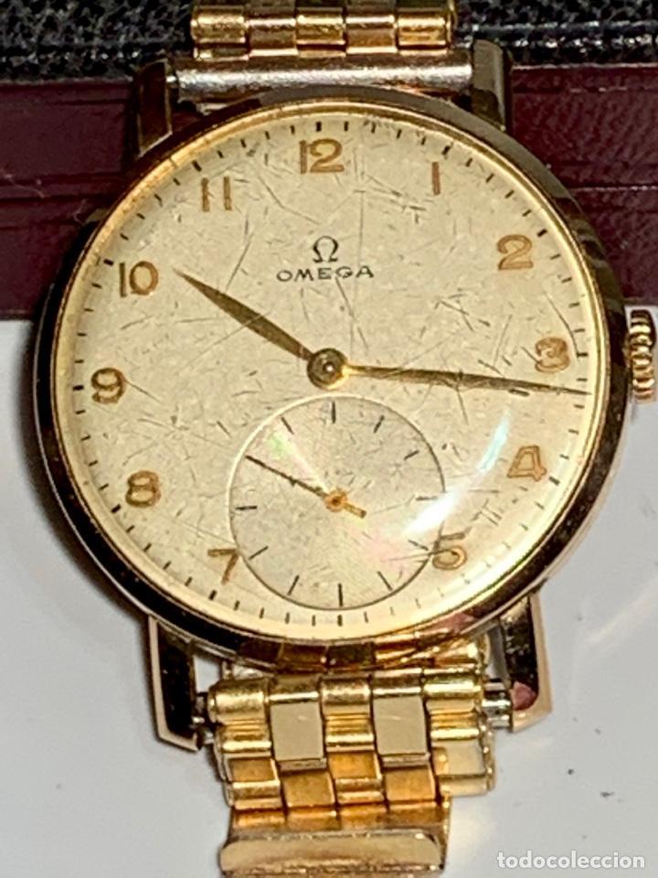 Relojes - Omega: Reloj Omega Caja Oro 18kt / Armis Plaqué Oro. Cal.30T2. 35mm. 15 Jewels. Box. 1944. Funcionando MBE - Foto 22 - 201109701