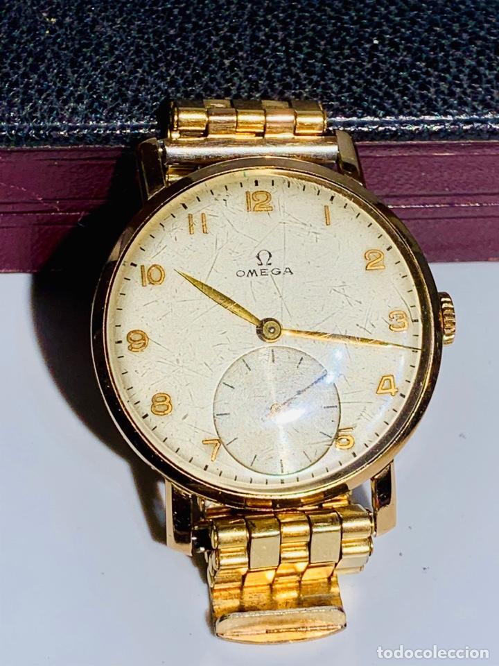 Relojes - Omega: Reloj Omega Caja Oro 18kt / Armis Plaqué Oro. Cal.30T2. 35mm. 15 Jewels. Box. 1944. Funcionando MBE - Foto 23 - 201109701
