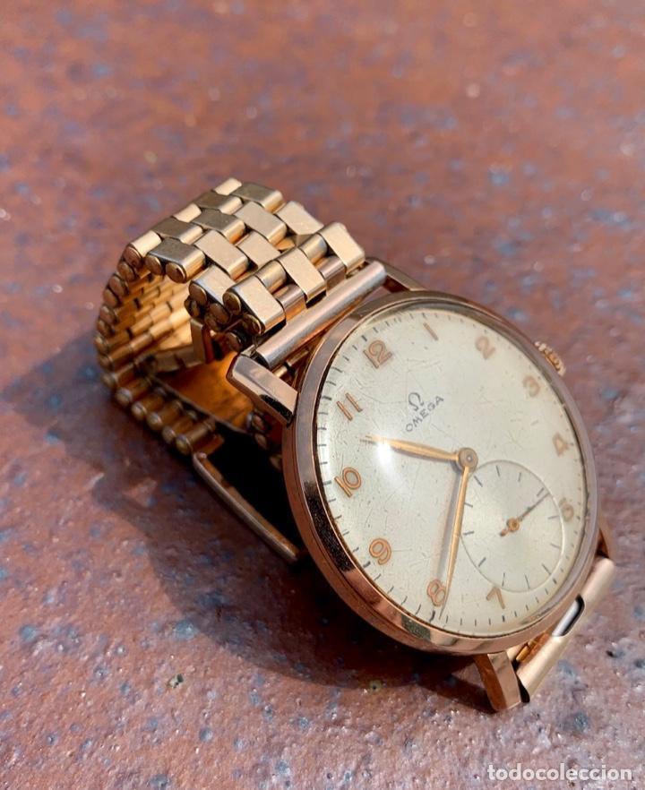 Relojes - Omega: Reloj Omega Caja Oro 18kt / Armis Plaqué Oro. Cal.30T2. 35mm. 15 Jewels. Box. 1944. Funcionando MBE - Foto 25 - 201109701