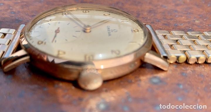 Relojes - Omega: Reloj Omega Caja Oro 18kt / Armis Plaqué Oro. Cal.30T2. 35mm. 15 Jewels. Box. 1944. Funcionando MBE - Foto 28 - 201109701