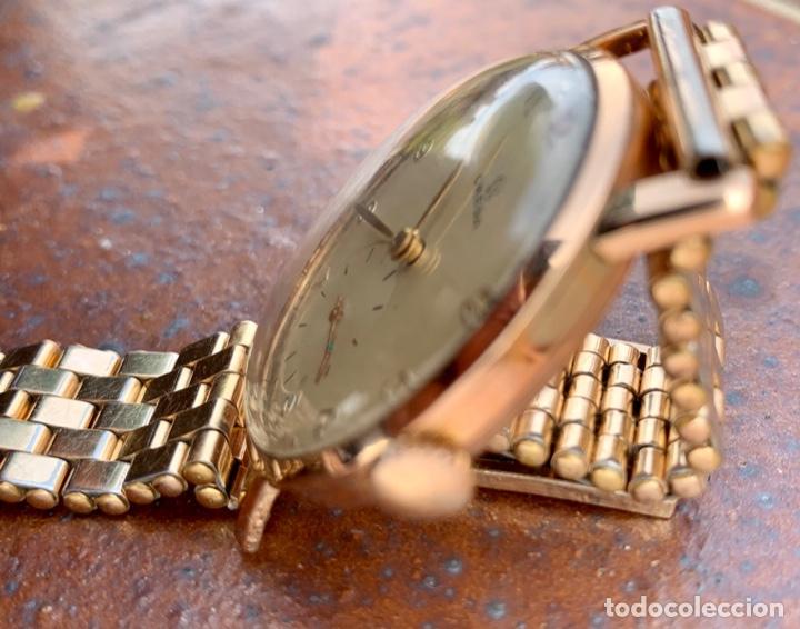 Relojes - Omega: Reloj Omega Caja Oro 18kt / Armis Plaqué Oro. Cal.30T2. 35mm. 15 Jewels. Box. 1944. Funcionando MBE - Foto 30 - 201109701