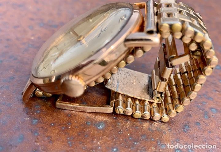 Relojes - Omega: Reloj Omega Caja Oro 18kt / Armis Plaqué Oro. Cal.30T2. 35mm. 15 Jewels. Box. 1944. Funcionando MBE - Foto 31 - 201109701
