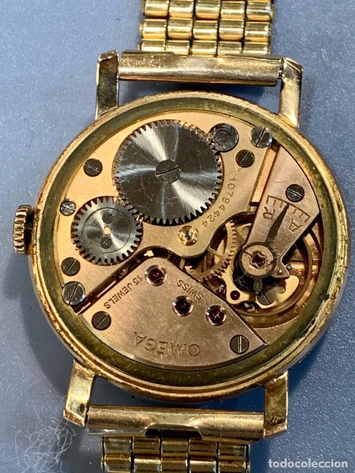 Relojes - Omega: Reloj Omega Caja Oro 18kt / Armis Plaqué Oro. Cal.30T2. 35mm. 15 Jewels. Box. 1944. Funcionando MBE - Foto 32 - 201109701