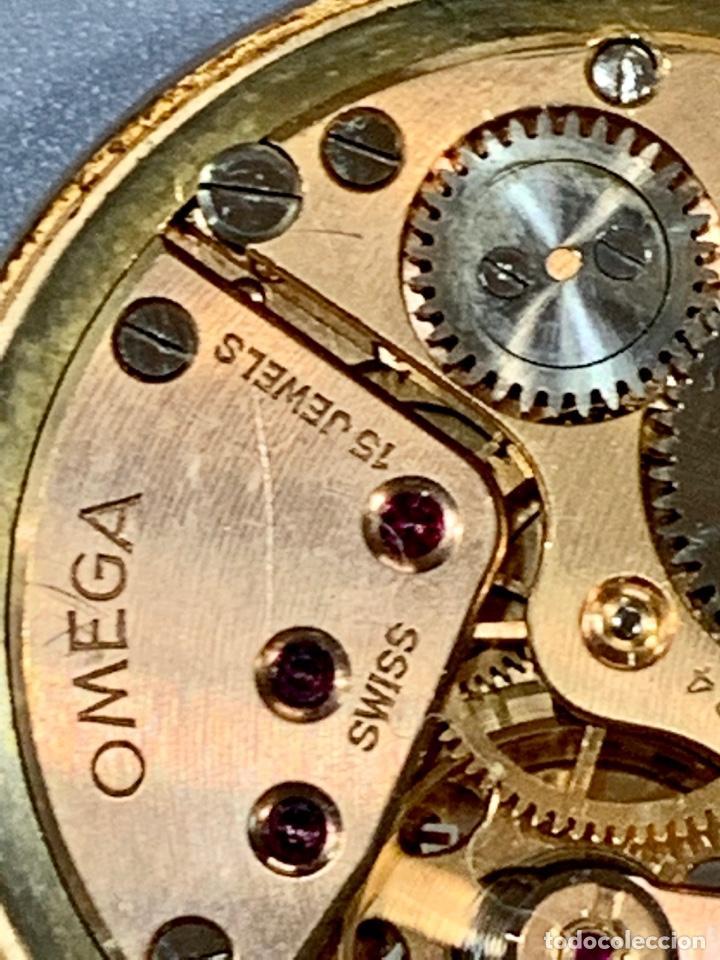 Relojes - Omega: Reloj Omega Caja Oro 18kt / Armis Plaqué Oro. Cal.30T2. 35mm. 15 Jewels. Box. 1944. Funcionando MBE - Foto 34 - 201109701