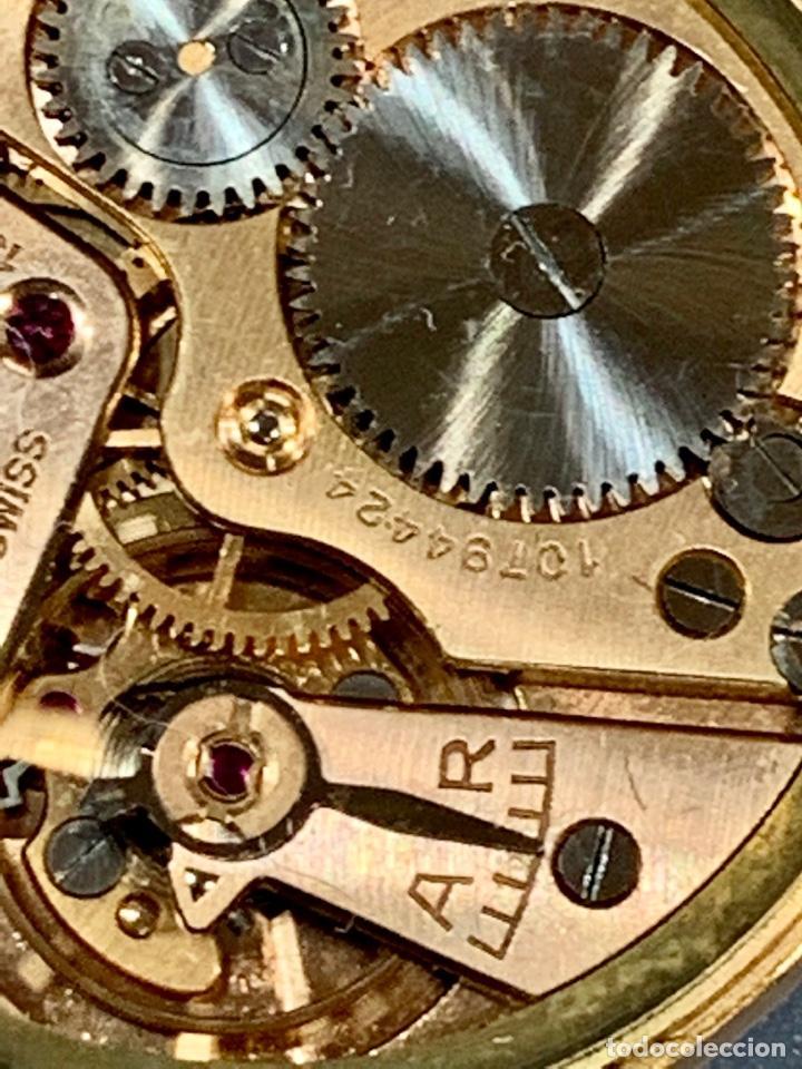 Relojes - Omega: Reloj Omega Caja Oro 18kt / Armis Plaqué Oro. Cal.30T2. 35mm. 15 Jewels. Box. 1944. Funcionando MBE - Foto 35 - 201109701