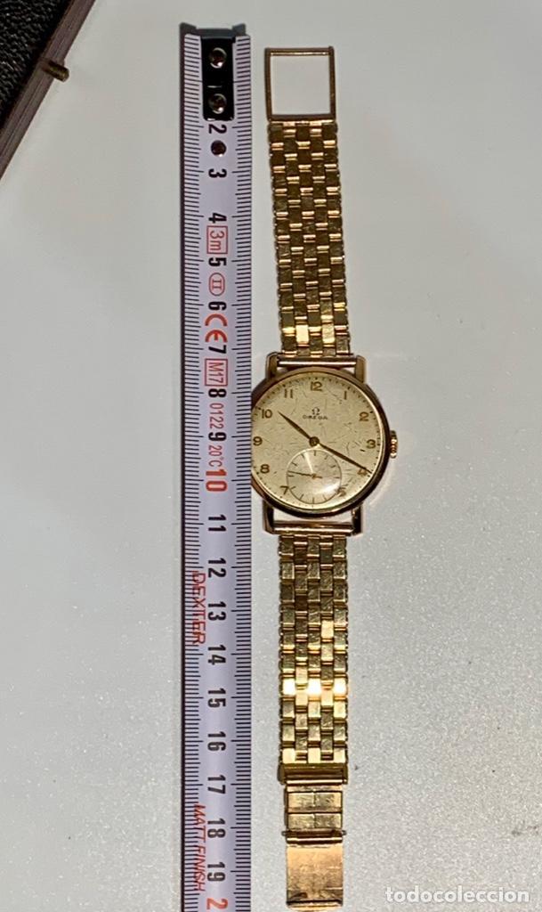 Relojes - Omega: Reloj Omega Caja Oro 18kt / Armis Plaqué Oro. Cal.30T2. 35mm. 15 Jewels. Box. 1944. Funcionando MBE - Foto 36 - 201109701