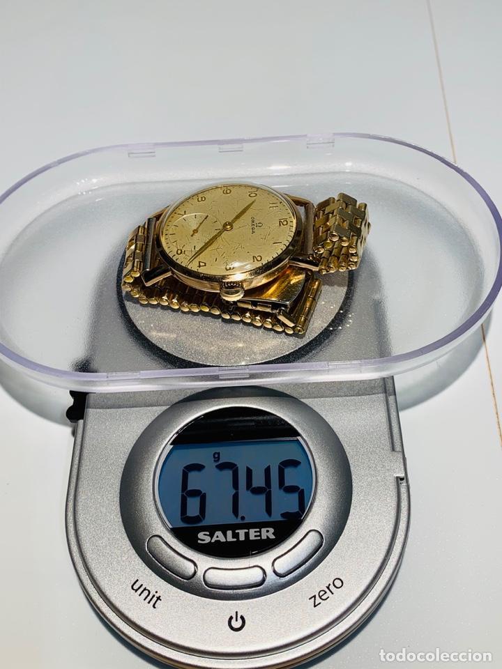 Relojes - Omega: Reloj Omega Caja Oro 18kt / Armis Plaqué Oro. Cal.30T2. 35mm. 15 Jewels. Box. 1944. Funcionando MBE - Foto 37 - 201109701