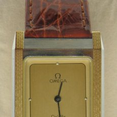 Relojes - Omega: RELOJ OMEGA CAJA DE ACERO Y ORO. UNISEX CASI NUEVO. Lote 205611485