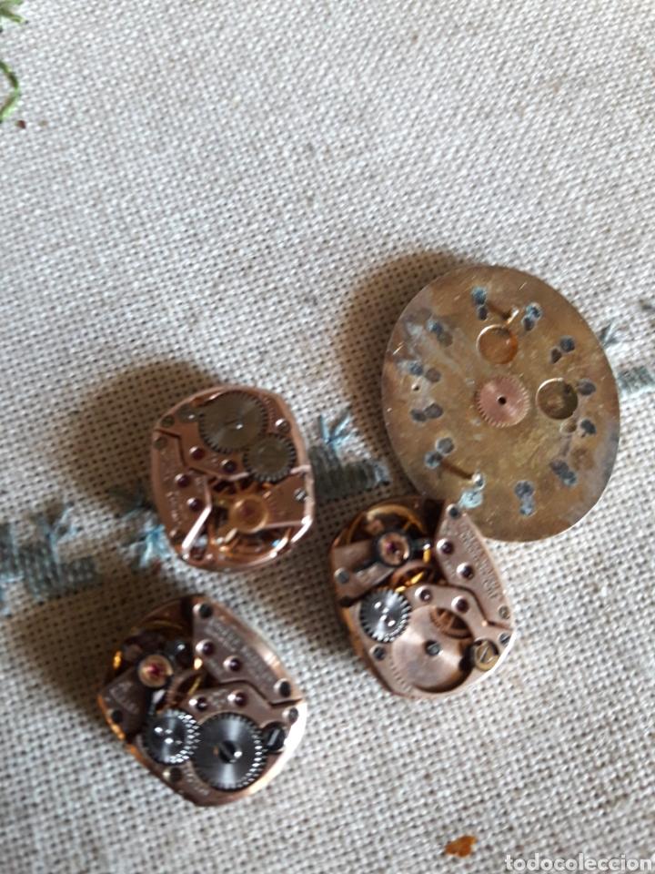 Relojes - Omega: Lote de 3 máquinas de reloj Omega - Foto 2 - 205845636