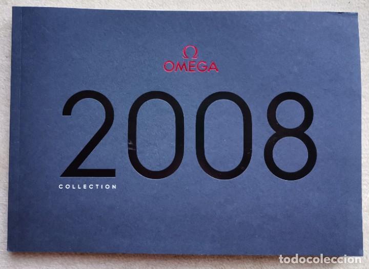CATÁLOGO RELOJES OMEGA - AÑO 2008 - INCLUYE LISTA DE PRECIOS (Relojes - Relojes Actuales - Omega)