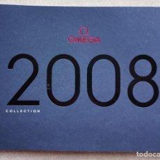 Relojes - Omega: CATÁLOGO RELOJES OMEGA - AÑO 2008 - INCLUYE LISTA DE PRECIOS. Lote 206815701
