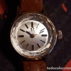 Relojes - Omega: RELOJ SEÑORA OMEGA ORO . ART DECO..SWISS MADE. SUIZO..BORDE CRISTAL EFECTO DIAMANTE. Lote 208423752