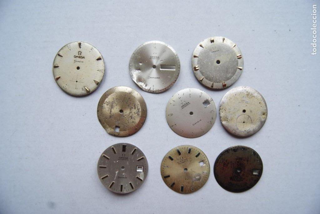 LOTE DE 9 ESFERAS OMEGA AUTOMATIC SEAMASTER GENEVE CABALLERO (Relojes - Relojes Actuales - Omega)