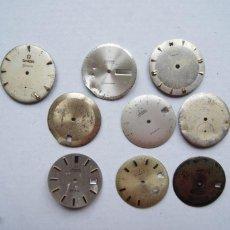 Relojes - Omega: LOTE DE 9 ESFERAS OMEGA AUTOMATIC SEAMASTER GENEVE CABALLERO. Lote 208928426