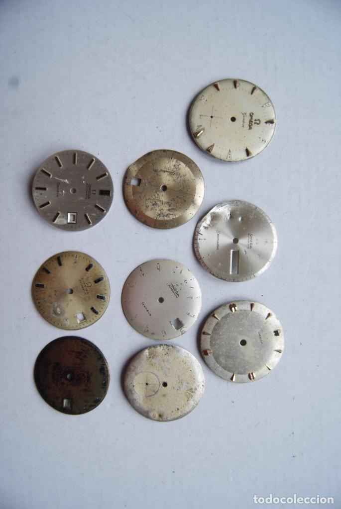 Relojes - Omega: LOTE DE 9 ESFERAS OMEGA AUTOMATIC SEAMASTER GENEVE CABALLERO - Foto 2 - 208928426