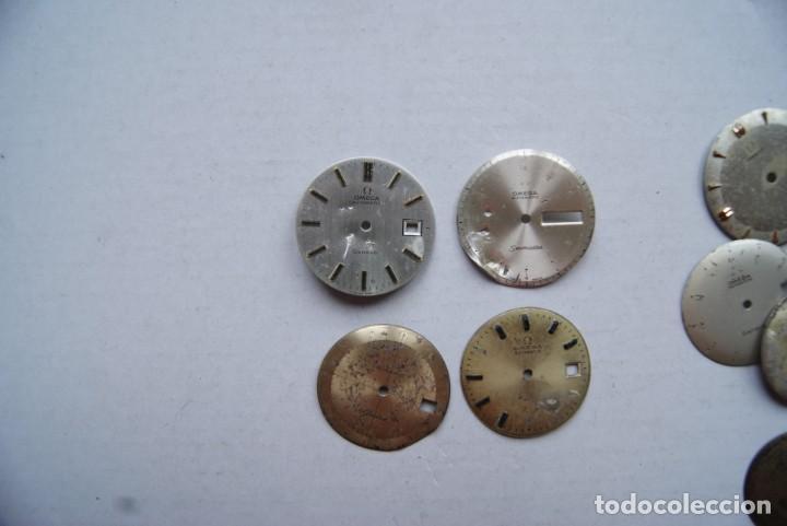Relojes - Omega: LOTE DE 9 ESFERAS OMEGA AUTOMATIC SEAMASTER GENEVE CABALLERO - Foto 3 - 208928426