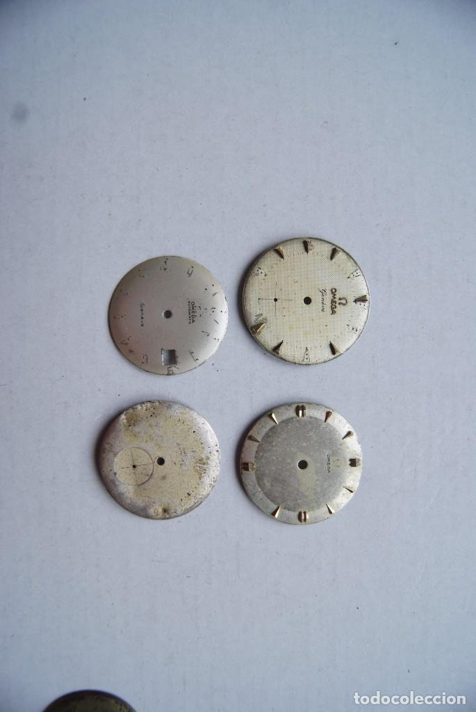 Relojes - Omega: LOTE DE 9 ESFERAS OMEGA AUTOMATIC SEAMASTER GENEVE CABALLERO - Foto 5 - 208928426