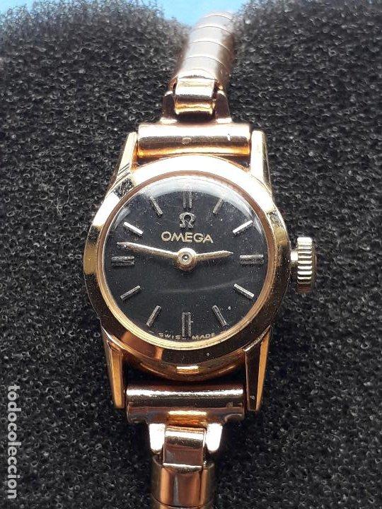 Relojes - Omega: Reloj marca Omega. Clásico de dama. Funcionando - Foto 10 - 210483405