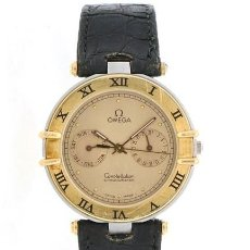 Relojes - Omega: OMEGA - CONSTELLATION 1444-MEN-ACERO / ORO (1980-1989). Lote 210651027