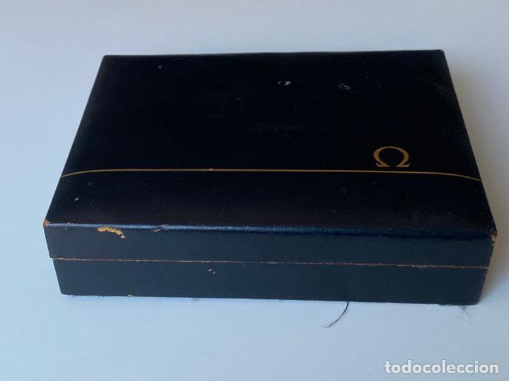 Relojes - Omega: estuche de reloj omega , antiguo y original , vacío . - Foto 2 - 216594748