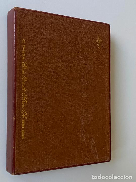 Relojes - Omega: estuche de reloj omega , antiguo y original , vacío . color marrón , loewe - Foto 4 - 216595070