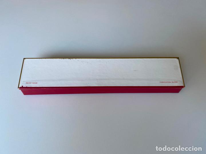 Relojes - Omega: estuche de reloj omega , antiguo y original , vacío . color rojo , - Foto 5 - 216596040
