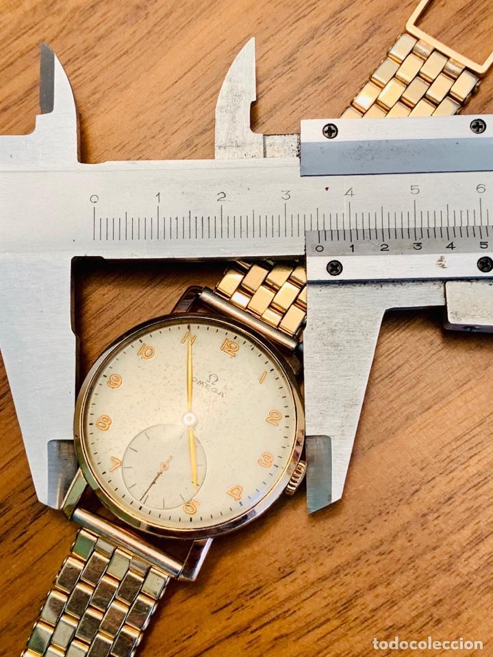 Relojes - Omega: Reloj Omega Caja Oro 18kt / Armis Plaqué Oro. Cal.30T2. 35mm. 15 Jewels. Box. 1944. Funcionando MBE - Foto 41 - 201109701