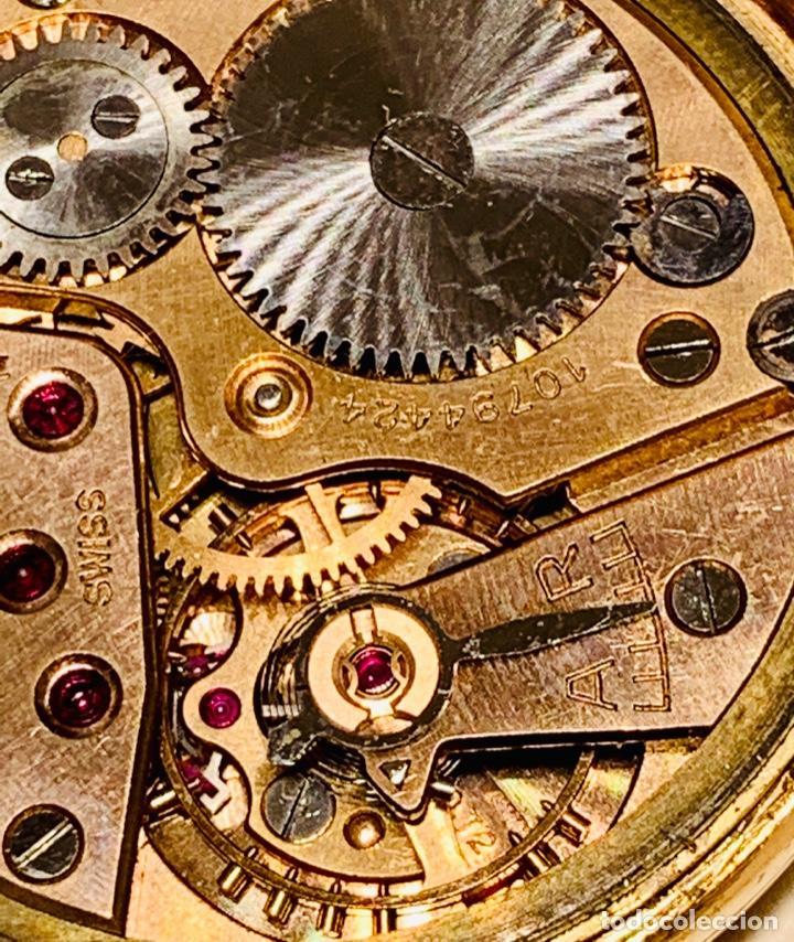 Relojes - Omega: Reloj Omega Caja Oro 18kt / Armis Plaqué Oro. Cal.30T2. 35mm. 15 Jewels. Box. 1944. Funcionando MBE - Foto 45 - 201109701