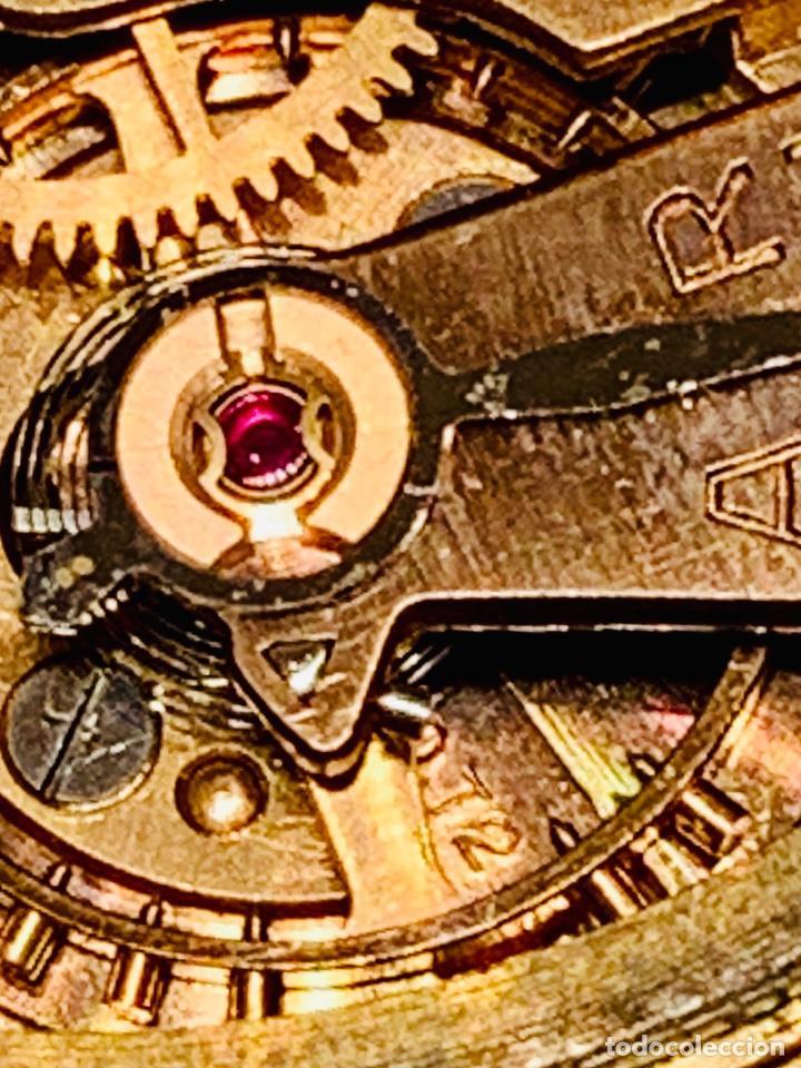 Relojes - Omega: Reloj Omega Caja Oro 18kt / Armis Plaqué Oro. Cal.30T2. 35mm. 15 Jewels. Box. 1944. Funcionando MBE - Foto 46 - 201109701