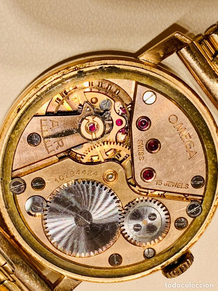 Relojes - Omega: Reloj Omega Caja Oro 18kt / Armis Plaqué Oro. Cal.30T2. 35mm. 15 Jewels. Box. 1944. Funcionando MBE - Foto 47 - 201109701
