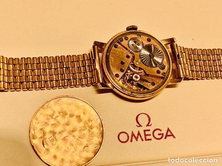 Relojes - Omega: Reloj Omega Caja Oro 18kt / Armis Plaqué Oro. Cal.30T2. 35mm. 15 Jewels. Box. 1944. Funcionando MBE - Foto 48 - 201109701