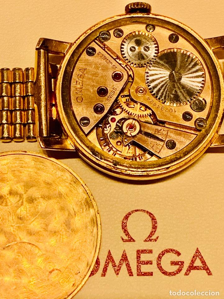 Relojes - Omega: Reloj Omega Caja Oro 18kt / Armis Plaqué Oro. Cal.30T2. 35mm. 15 Jewels. Box. 1944. Funcionando MBE - Foto 49 - 201109701