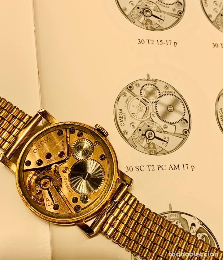 Relojes - Omega: Reloj Omega Caja Oro 18kt / Armis Plaqué Oro. Cal.30T2. 35mm. 15 Jewels. Box. 1944. Funcionando MBE - Foto 50 - 201109701