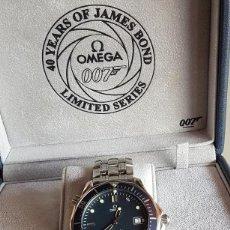 Orologi - Omega: RELOJ OMEGA SEAMASTER PROFESSIONAL DIVER JAMES BOND 40 YEARS LIMITED EDITION (2002) - ÚNICO EN TC. Lote 218697017