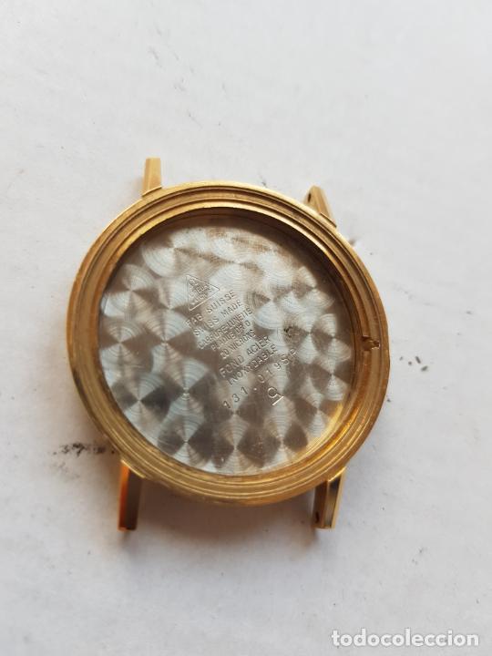 CAJA OMEGA 131.019 SP CHAPADO ORO CALIBRE 601 34MM (Relojes - Relojes Actuales - Omega)